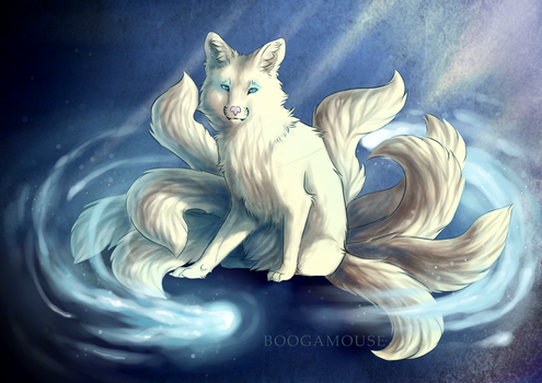 Ninetails by BoogaMouse