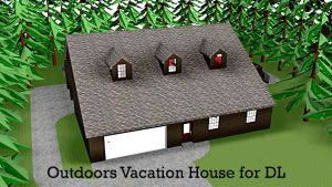 MMD DL - Outdoors Vacation House by swiftcat-mooshi