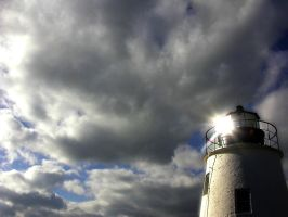 Lighthouse In The Sky by sillylittleidiot