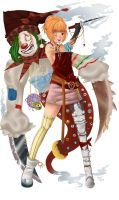 the clown summoner by Ninou24