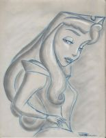 Princess Aurora Sketch by Anime-Ray