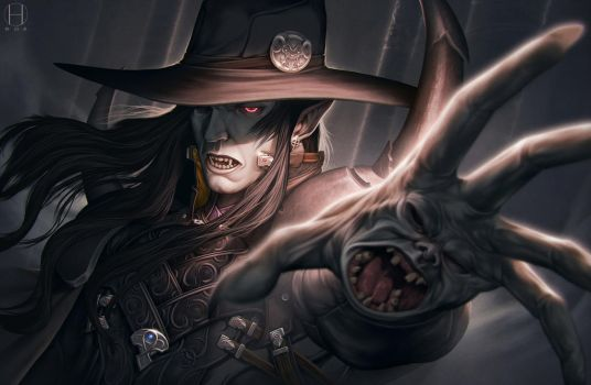Vampire Hunter D by Gido