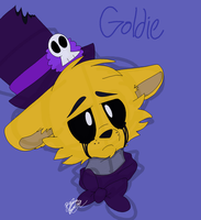 Gold Doodle by AskdaFNAFCharacters