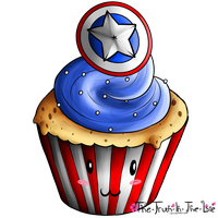 Captain Cupcake by Empty-Frames