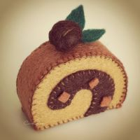 Coffee Swiss Roll by bibiluv