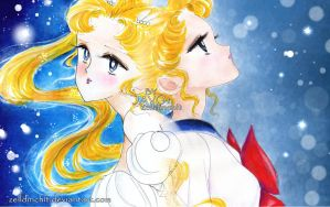 Sailor Moon - Princess Usagi by zelldinchit