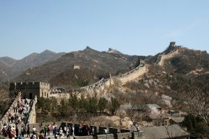 China: Beijing: The Great Wall by Golden-Plated
