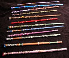 More Magic Wands 2012 by lady-cybercat