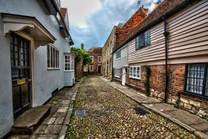 Typical Rye street by forgottenson1