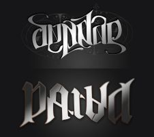 Ambigram by packness