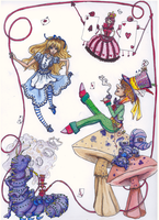 Alice in Wonderland by Condayum
