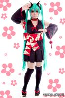 Hatsune Miku :: FOX version by plu-moon