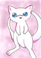 ACEO - Mew by bittykitty