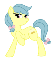 Lemondrop the Earth Pony by Angelkitty17
