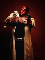 46 magazine super heroes edition hellboy by mehmeturgut