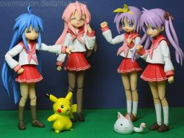 Lucky Star Pokemon Battle by OvermanXAN