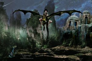 The Place for dragons by annemaria48