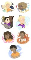 HoO stickers by IVDP