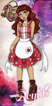 Ever After High OC: Dolly Mallory by Hasana-chan