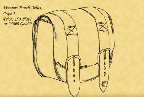 Weapon Pouch Delux Type1 by Broadshore