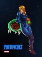 Samus! by WhitePsych5