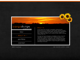 Sunset layout by CargoDesign