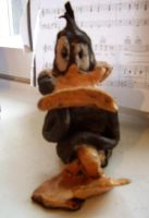 My Ceramic Daffy Statue by SnappySnape