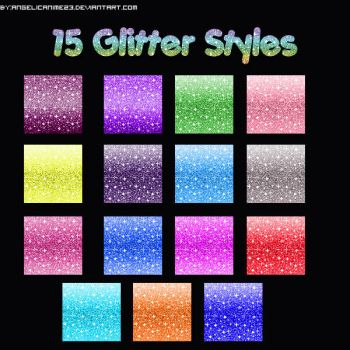 Glitter Styles by angelicanime23