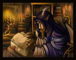 Arcane Tomes by rottedgirl
