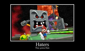 Haters gonna hate mario by NonoKraken