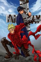 Trigun Badlands Rumble by Tsubasa-No-Kami