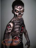 HALLOWEEN Bodypaint ... by james366