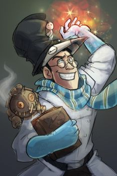 Tf2-Magic Medic by MadJesters1