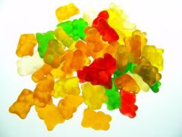 Gummy Bears by DegraHuma-Stock