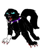 Scourge (first digital art) by TangledTabby876