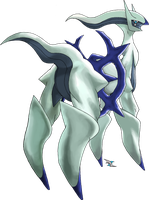 Arceus Flying Type by Xous54