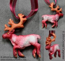 Orchid Reindeer by soulofwinter