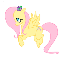 FlutterShy. by ChammiBee