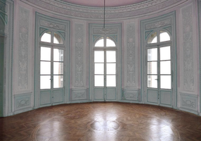 Empty Room - Castle - Pink and Light Blue 2 - Tran by Quryous