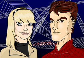 Gwen Stacy and Peter Parker (Version 02) by Dreed-06