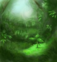 Forest Floor by Rosethorn-Mage