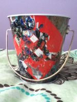Optimus Bucket by KristenitaPrime7