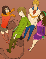 osy057's Scooby Doo colored by Izaru
