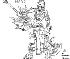 Haseo 3rd Form by fulldemonnaruto