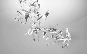 BnW Abstract Wallpaper by Smangii