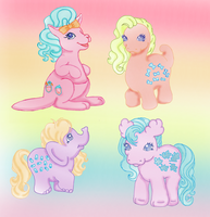 My Little pony Animals by NamineEveningLight