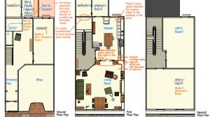 221B Baker Street Plans 02 by folha5eca