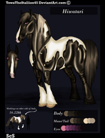 Hiwatari Referance Sheet 2012 by TowaTheStallion45