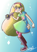 Star Butterfly by minty-red
