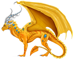 CONTEST #1 - Dragon Design by DelusionalPuffball